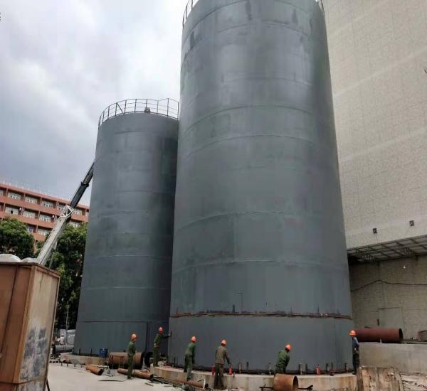 广州汇云数据中心3000m3水蓄冷罐