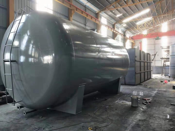 广州兴丰垃圾填埋场50吨浓硫酸储罐